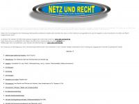 Netz und Recht, juristische Linksammlung, Sammlung juristischer Links