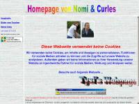 Die Homepage von Nomi und Curles