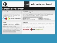 NoName Development - Herzlich Willkommen