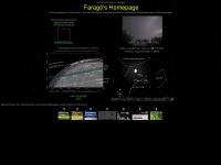 Farago's [Leitseite] mit Linksammung Astronomie mit Sternbedeckungen  und Finsternissen
