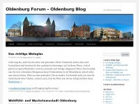 Oldenburg Forum - Oldenburg Blog