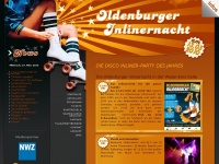 Oldenburger-Inlinernacht | Die Disco Inliner-Party des Jahres