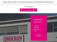 Omikron Data AG | Eifach Duurhaft Vernünftig. EDV im Glarnerland