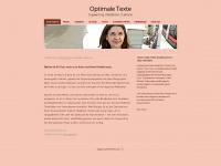 Optimale Texte | Copywriting | Redaktion | Lektorat