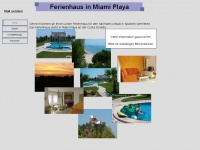 Ferienhaus in Miami Playa