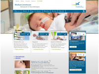 Klinikum-lev.de - Mittelpunkt im Gesundheitspark - Klinikum Leverkusen