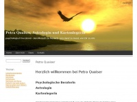 Petra Quaiser, Astrologin und Kartenlegerin  | psychologisch beratend - Von Mensch zu Mensch, von Hand zu Hand, von Dir zu mir.