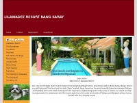 lilawadee-resort-bangsaray.com