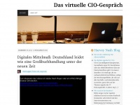 Das virtuelle CIO-Gespr&auml;ch | Was IT-F&uuml;hrungskr&auml;fte bewegt