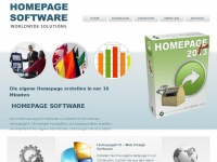Homepage Software f&uuml;r Ihren Webauftritt - HomepageFIX