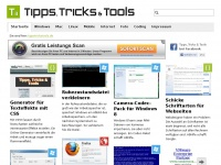 Tipps, Tricks & Tools