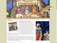 Krippenkabinett.de - Weihnachtskrippen | Krippenfiguren | Gipsfiguren: Guido H. Esper Krippenkabinett