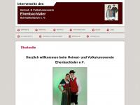 Ehenbachtaler-Schnaittenbach - Do fangts o