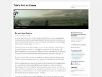 Tobi's FsJ in Ghana | Erfahrungsbericht meines Volutärdienstes in Ghana