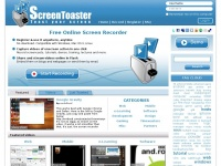 Screentoaster.com - ScreenToaster - Online screen recorder. Capture screencasts instantly.