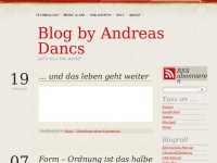 Blog by Andreas Dancs | Let's tuxx the world!