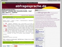abfragesprache.de