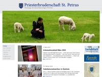 Priesterbruderschaft St. Petrus - Home