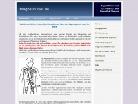 [MagnetPulser.de] Pulser nach Dr Beck, Frequenztherapie - Auf diesen Seiten finden Sie Informationen über den Magnetpulser nach Dr. Beck