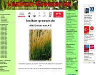 lexikon-graeser.de - alle Gräser A-Z Grasarten Gräserarten