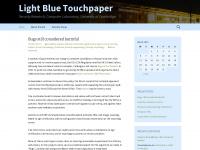 lightbluetouchpaper.org