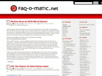 faq-o-matic.net