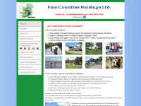 five-counties-holidays.com