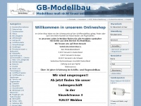 Gb-modellbau.de - GB-Modellbau - Modellbau muß nicht teuer sein !!