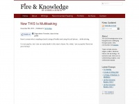 fireandknowledge.org