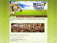 bauernmarkt beim bauernmarkt beim biller e v startseite. Black Bedroom Furniture Sets. Home Design Ideas