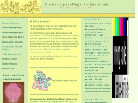 Kindertagespflege in Berlin