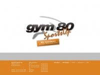 gym 80 Sports Up | 37154 Northeim-Sudheim | Ihr kompetentes Fitness-Studio in der Region