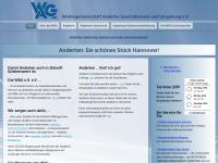Herzlich Willkommen auf der Website der WAG Anderten
