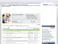 Jobs und Stellenangebote im Bereich Finanzen bei finanz-jobs.de