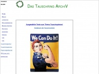 Tauschring-archiv.de - Das Tauschring Archiv