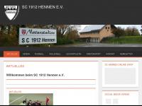 Willkommen beim SC 1912 Hennen e.V.