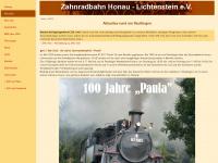 Freunde der Zahnradbahn Honau-Lichtenstein