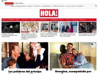 hola.com diario de actualidad, moda y belleza
