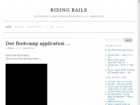 ridingrails.co.uk Thumbnail