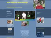 Peter Tiedemann seine Homepage - Startseite