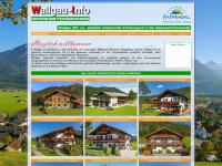 Wallgau Information. Unterkünfte, Ferienwohnungen, Ferienappartement, FeWo, Gästehäuser, Gästezimmer, Hotel, Pensionen in der Alpenwelt Karwendel