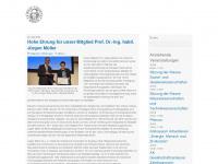 Leibniz-Sozietät der Wissenschaften zu Berlin e.V. | begründet 1700 als Brandenburgische Sozietät der Wissenschaften