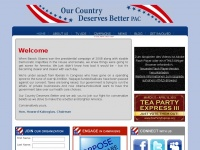 ourcountrydeservesbetter.com