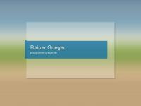 Rainer-Grieger.de | Altes, Neues, Sonstiges