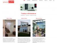 Glastechnik Max Pauliel GmbH - Glas, Glaserei und Glashandel aus Bad Aibling