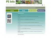Pflanzenschutz Informationssystem