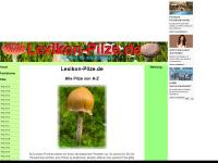 lexikon-Pilze.de - alle Pilze A-Z Pilzfotos Pilzarten Pilzbestimmung