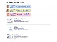 Links zum Thema Legasthenie / LRS / Dyskalkulie