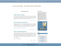 Nucleus CMS - Die deutsche Version