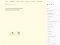 Schloss Solitude: Staatliche Schlösser und Gärten Baden-Württemberg